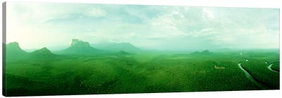 Misty Rainforest Landscape, Amazonas State, Venezuela Canvas Print #PIM5