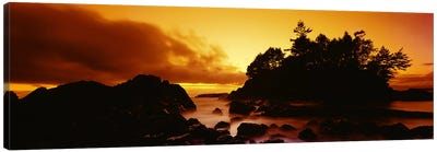 Majestic Coastal Sunset, Tofino, Vancouver Island, British Columbia, Canada Canvas Art Print