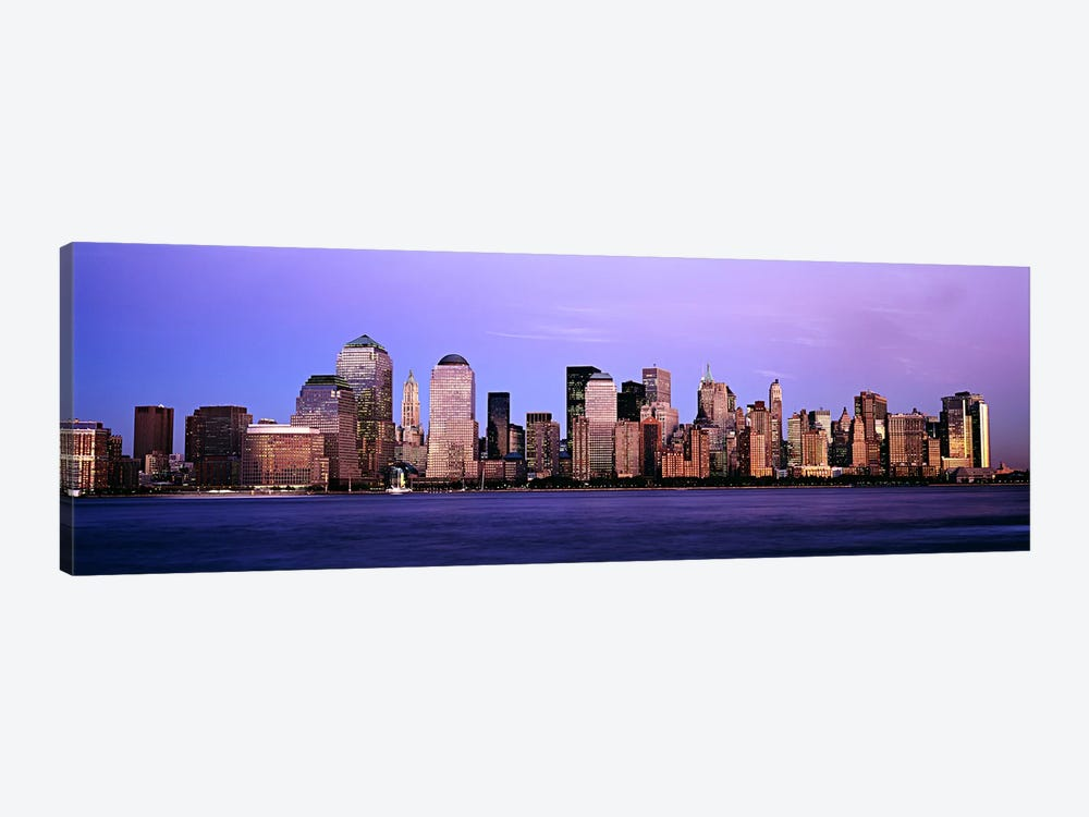 Buildings at the waterfront, Manhattan, New York City, New York State, USA #2 by Panoramic Images 1-piece Canvas Art