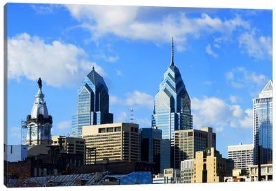 Skyscrapers in a city, Liberty Place, Philadelphia, Pennsylvania, USA Canvas Print #PIM6034