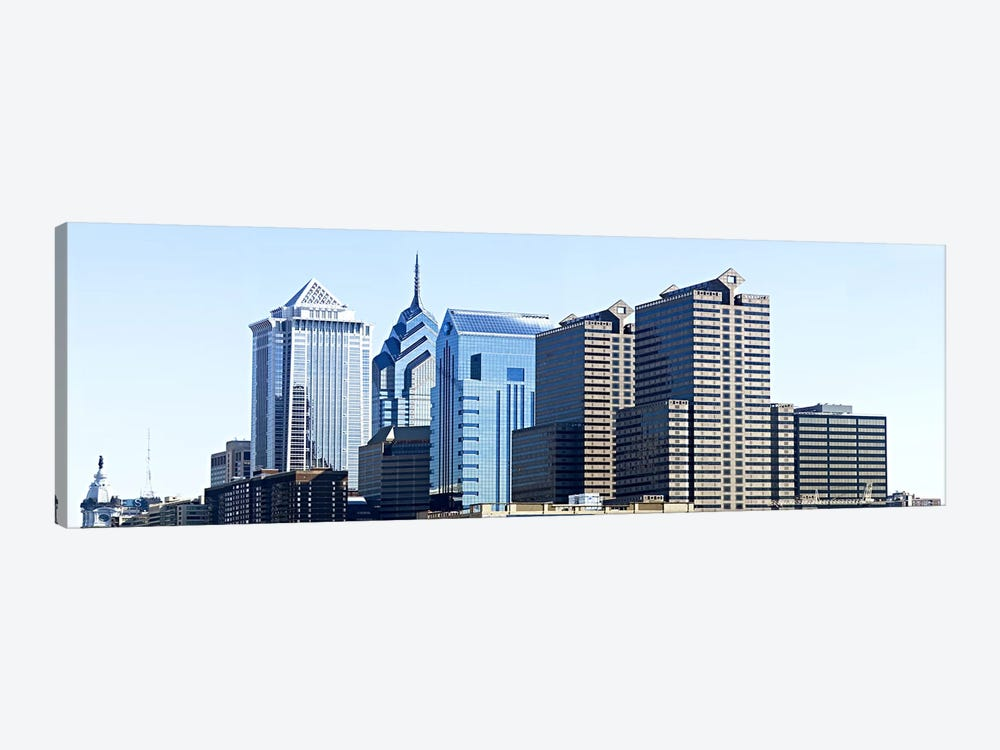 Skyscrapers in a city, Philadelphia, Pennsylvania, USA #6 by Panoramic Images 1-piece Canvas Art