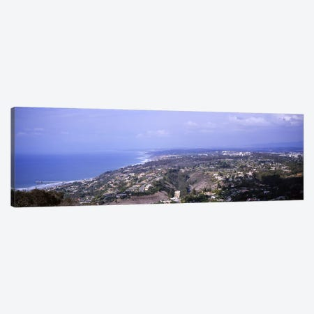 High angle view of buildings on a hillLa Jolla, Pacific Ocean, San Diego, California, USA Canvas Print #PIM6050} by Panoramic Images Canvas Art Print