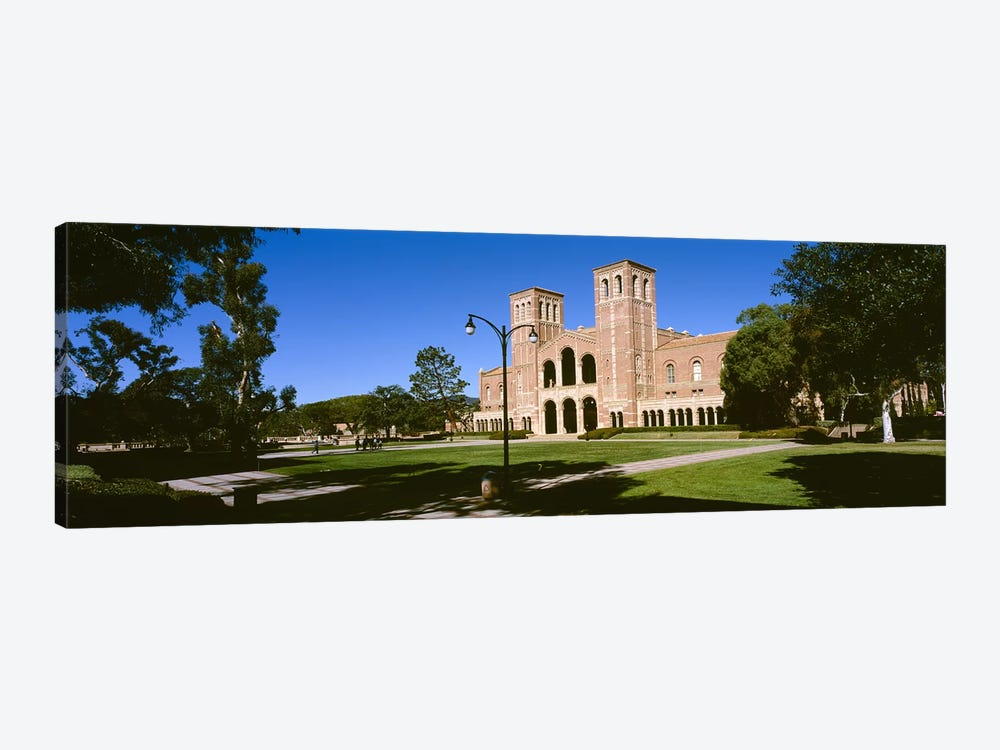 Facade of a buildingRoyce Hall, City of Los Angeles, California, USA by Panoramic Images 1-piece Canvas Print