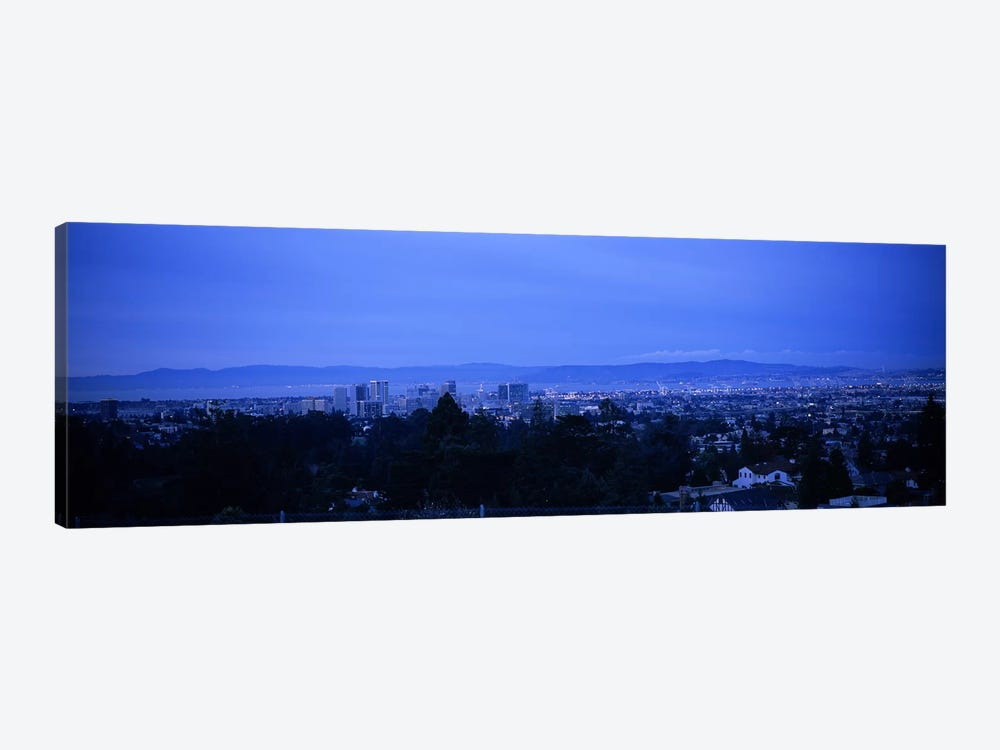 High angle view of buildings in a cityOakland, California, USA by Panoramic Images 1-piece Canvas Print
