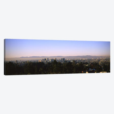 High angle view of a cityscapeOakland, California, USA Canvas Print #PIM6055} by Panoramic Images Canvas Artwork