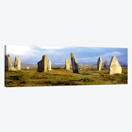 Callanish Stones, Isle Of Lewis, Outer Hebrides, Scotland, United Kingdom Canvas Print #PIM605} by Panoramic Images Canvas Print