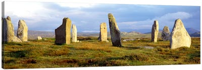 Callanish Stones, Isle Of Lewis, Outer Hebrides, Scotland, United Kingdom Canvas Art Print