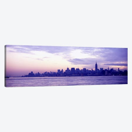 Skyscrapers at the waterfront, at sunriseManhattan, New York City, New York State, USA Canvas Print #PIM6075} by Panoramic Images Canvas Wall Art
