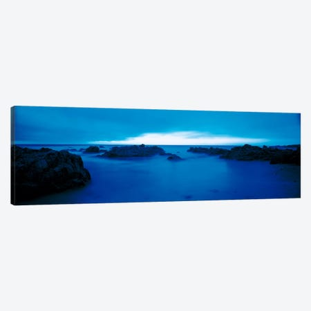 Pacific Coast Monterey CA USA Canvas Print #PIM60} by Panoramic Images Canvas Wall Art