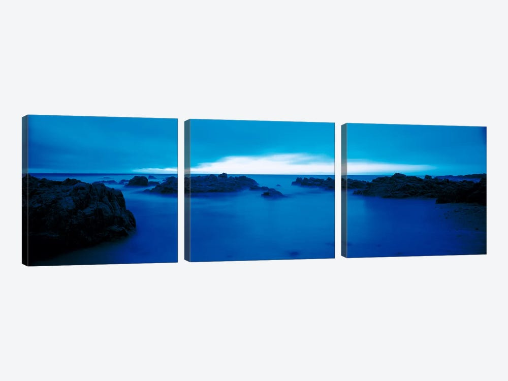 Pacific Coast Monterey CA USA by Panoramic Images 3-piece Canvas Art