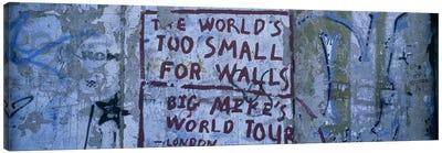 Sociopolitical Graffiti, Berlin Wall, Berlin, Germany Canvas Print #PIM6106