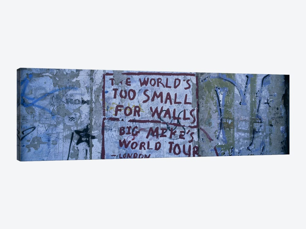 Sociopolitical Graffiti, Berlin Wall, Berlin, Germany by Panoramic Images 1-piece Canvas Art Print