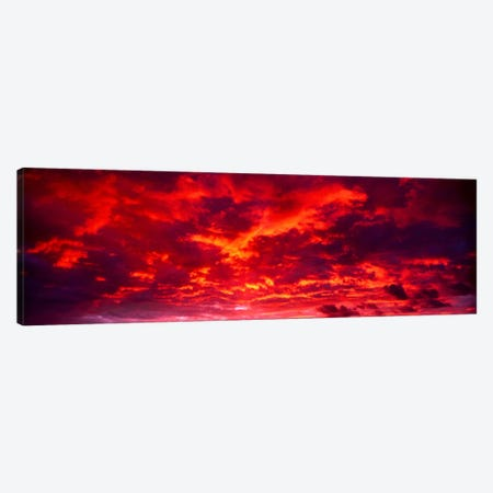 Sunset Dragoon Mountains AZ Canvas Print #PIM612} by Panoramic Images Canvas Art Print