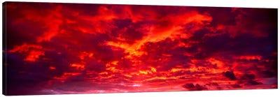 Sunset Dragoon Mountains AZ Canvas Print #PIM612