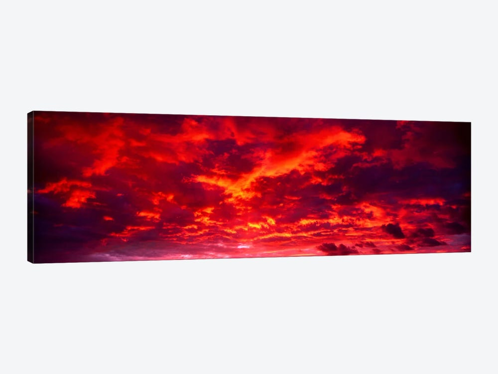 Sunset Dragoon Mountains AZ by Panoramic Images 1-piece Art Print
