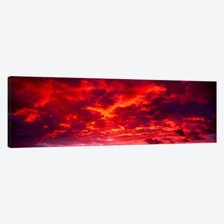 Sunset Dragoon Mountains AZ Canvas Print #PIM612} by Panoramic Images Canvas Art Print