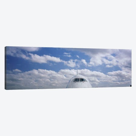 Cockpit, Boeing 747 Canvas Print #PIM6141} by Panoramic Images Canvas Print