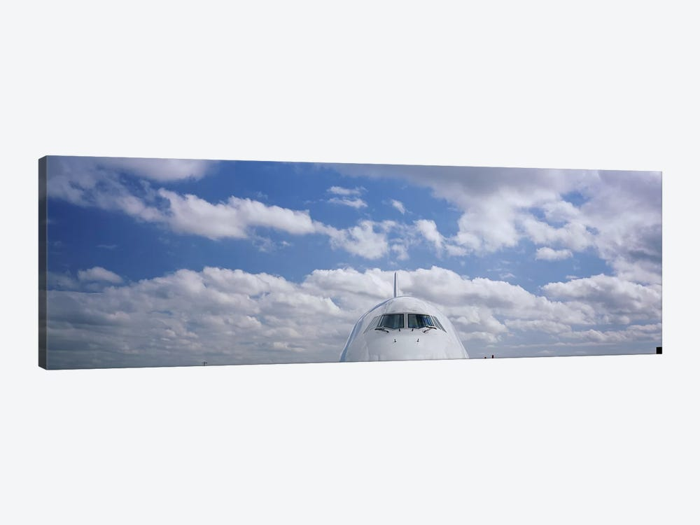 Cockpit, Boeing 747 by Panoramic Images 1-piece Canvas Art
