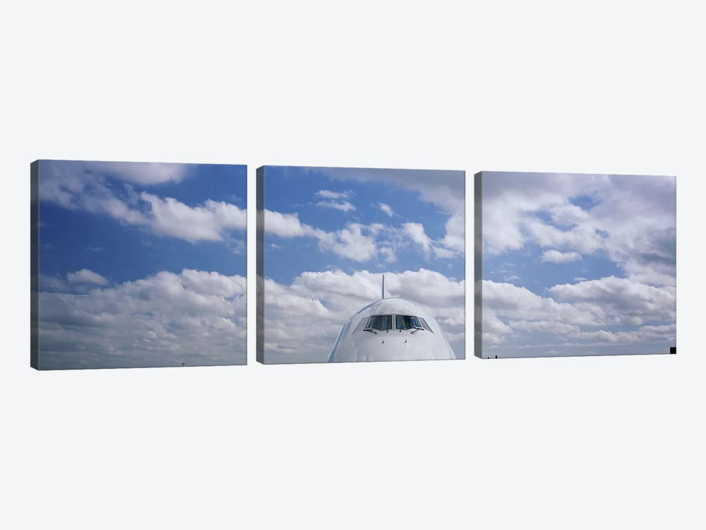 Cockpit, Boeing 747 by Panoramic Images 3-piece Canvas Art