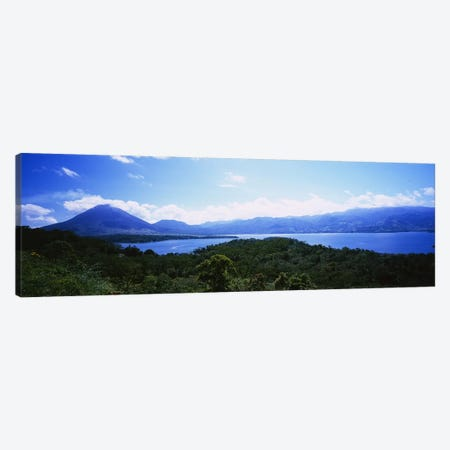 Tropical Landscape Featuring Arenal Volcano, Alajuela Province, Costa Rica Canvas Print #PIM6152} by Panoramic Images Canvas Art