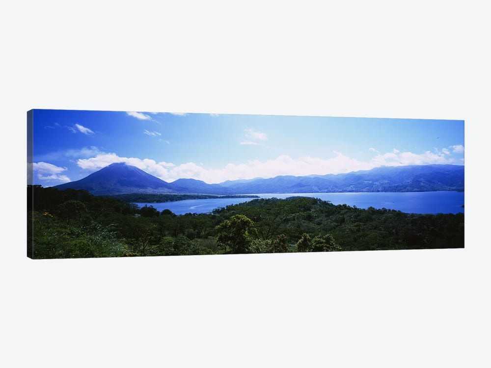 Tropical Landscape Featuring Arenal Volcano, Alajuela Province, Costa Rica by Panoramic Images 1-piece Canvas Artwork