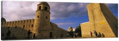Group of people at a mosque, Great Mosque, Medina, Sousse, Tunisia Canvas Art Print