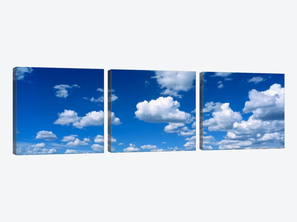 Clouds UT by Panoramic Images 3-piece Canvas Art