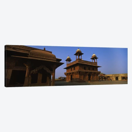 Low angle view of a building, Fatehpur Sikri, Fatehpur, Agra, Uttar Pradesh, India Canvas Print #PIM6183} by Panoramic Images Art Print