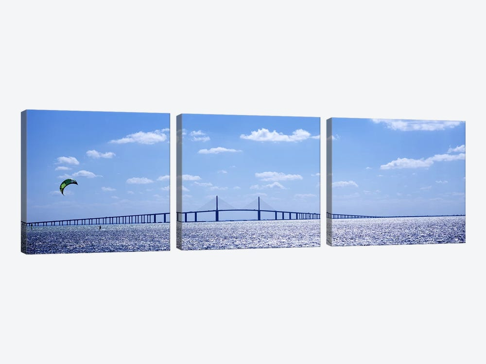 bridge across a baysunshine skyway bridge tampa bay