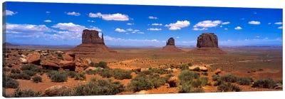 Monument Valley UT \ AZ Canvas Print #PIM618