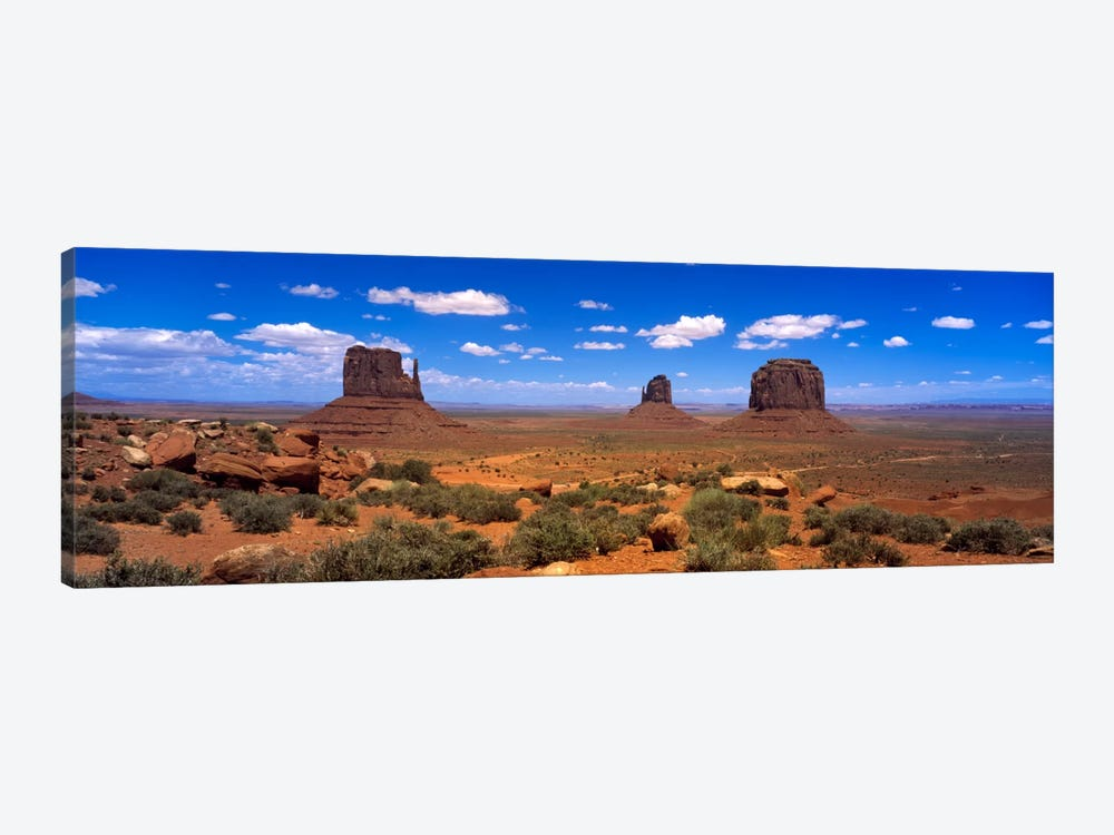Monument Valley UT \ AZ by Panoramic Images 1-piece Canvas Print