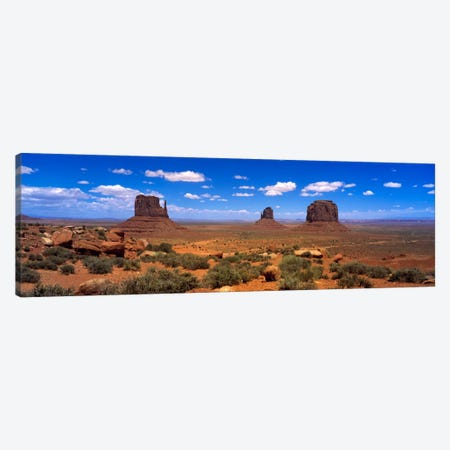 Monument Valley UT \ AZ Canvas Print #PIM618} by Panoramic Images Canvas Print