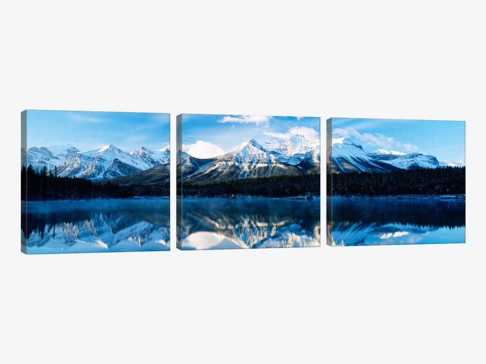 Herbert Lake, Banff National Park, Alberta, Canada by Panoramic Images 3-piece Canvas Wall Art