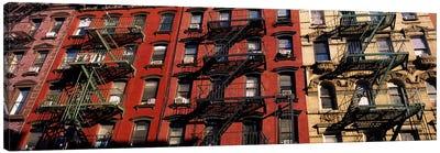 Fire Escapes, Little Italy, Lower Manhattan, New York City, New York, USA Canvas Print #PIM6200