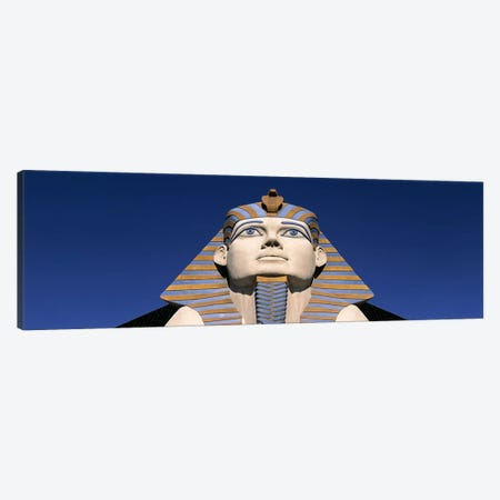 Low angle view of a sphinx, Luxor Hotel Sphinx, Las Vegas, Nevada, USA Canvas Print #PIM6205} by Panoramic Images Canvas Print