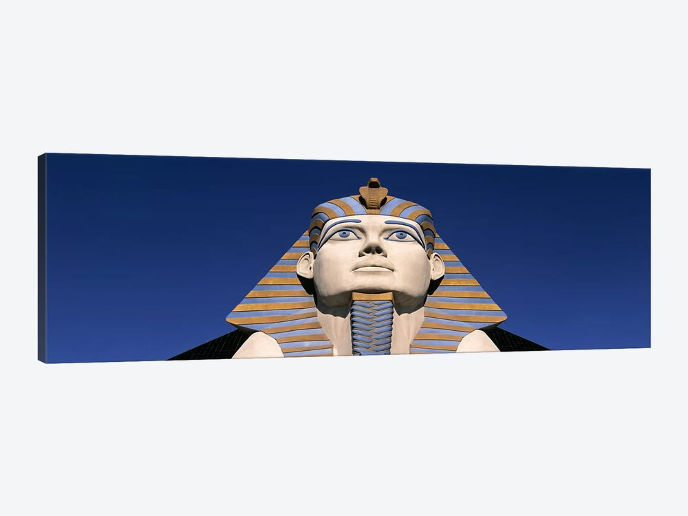 Low angle view of a sphinx, Luxor Hotel Sphinx, Las Vegas, Nevada, USA by Panoramic Images 1-piece Canvas Art
