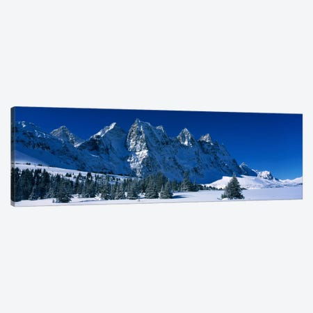 The Ramparts Tonquin Valley Jasper National Park Alberta Canada Canvas Print #PIM620} by Panoramic Images Canvas Art