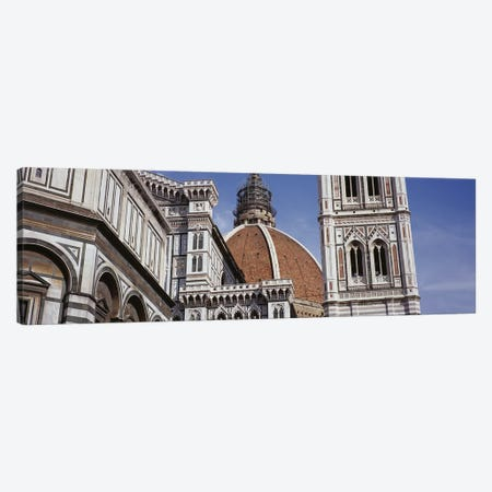 Low angle view of a cathedral, Duomo Santa Maria Del Fiore, Florence, Tuscany, Italy Canvas Print #PIM6212} by Panoramic Images Canvas Art Print