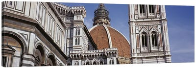 Low angle view of a cathedral, Duomo Santa Maria Del Fiore, Florence, Tuscany, Italy Canvas Print #PIM6212