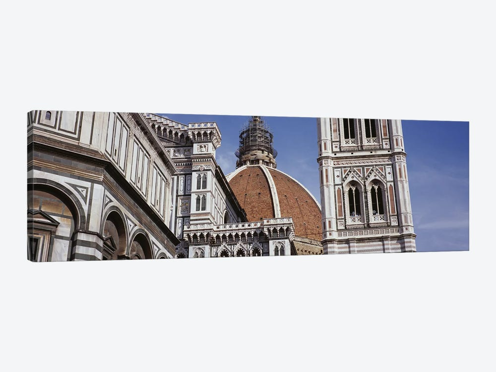 Low angle view of a cathedral, Duomo Santa Maria Del Fiore, Florence, Tuscany, Italy by Panoramic Images 1-piece Canvas Wall Art