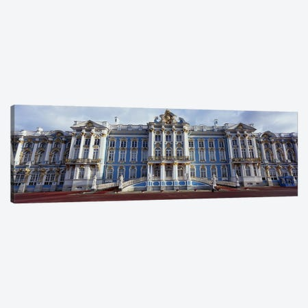 Facade of a palace, Catherine Palace, Pushkin, St. Petersburg, Russia Canvas Print #PIM6216} by Panoramic Images Canvas Wall Art