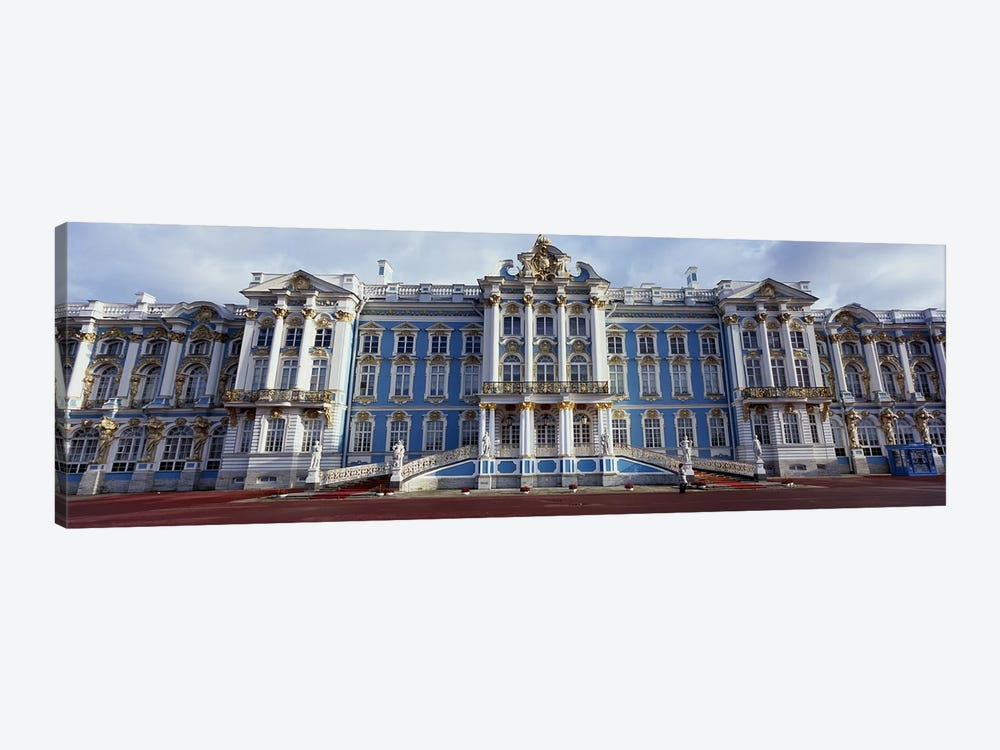 Facade of a palace, Catherine Palace, Pushkin, St. Petersburg, Russia by Panoramic Images 1-piece Canvas Wall Art