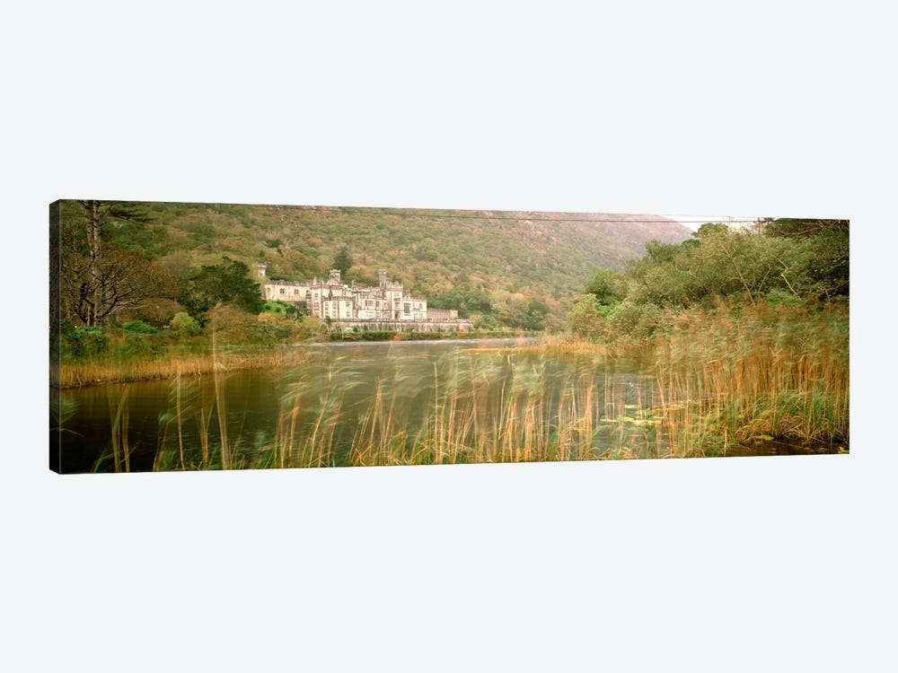 Kylemore Abbey County Galway Ireland by Panoramic Images 1-piece Canvas Art