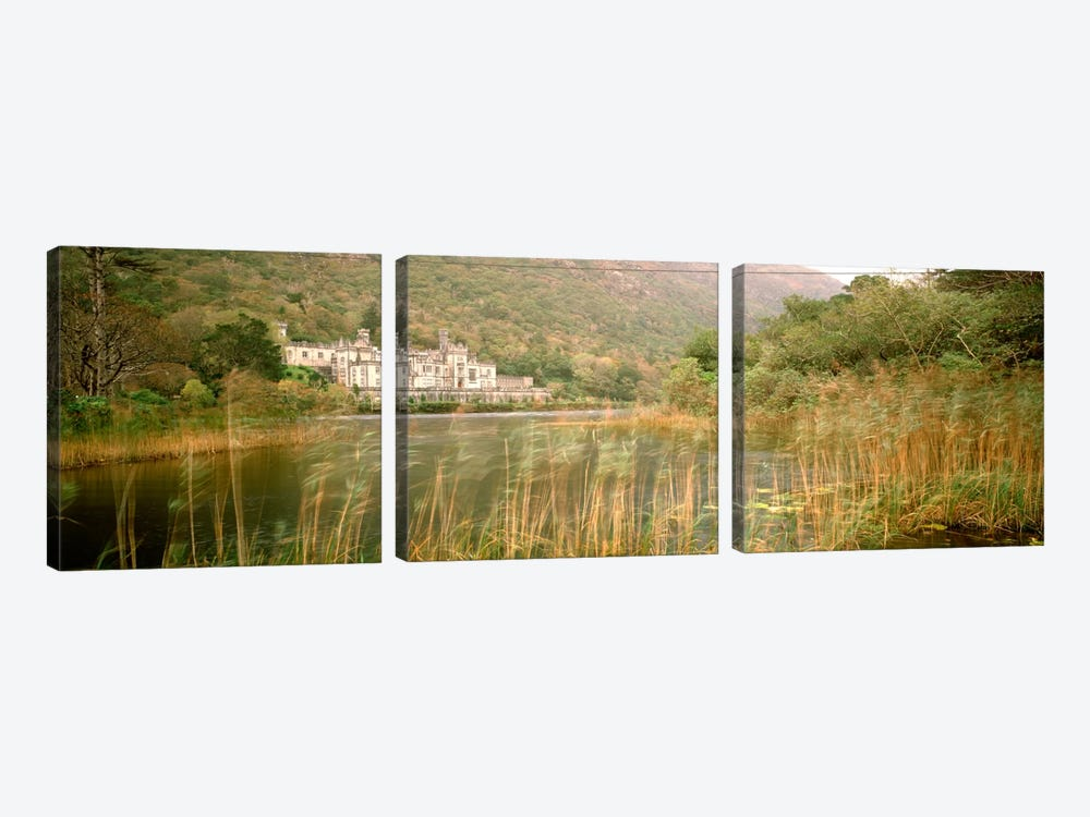 Kylemore Abbey County Galway Ireland by Panoramic Images 3-piece Canvas Artwork