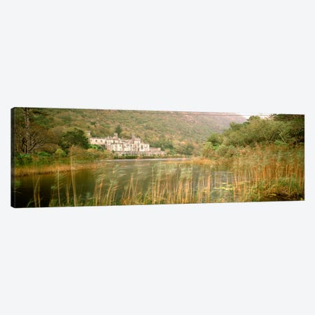 Kylemore Abbey County Galway Ireland Canvas Print #PIM622} by Panoramic Images Canvas Artwork
