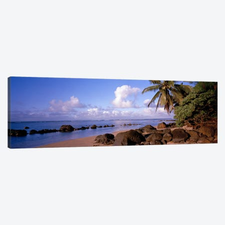 Anini Beach, Kauai, Hawai'i, USA Canvas Print #PIM6234} by Panoramic Images Canvas Wall Art