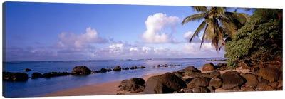 Anini Beach, Kauai, Hawai'i, USA Canvas Print #PIM6234
