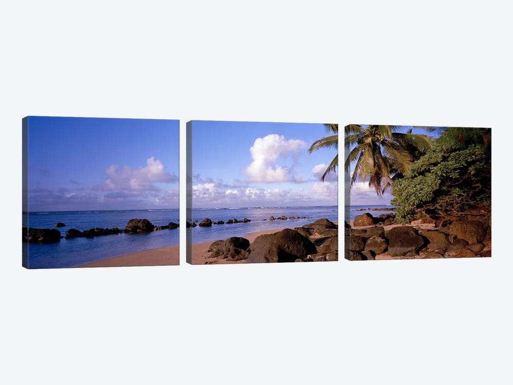 Anini Beach, Kauai, Hawai'i, USA by Panoramic Images 3-piece Canvas Wall Art