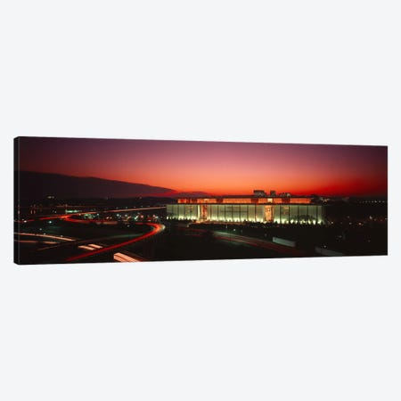High angle view of a building lit up at nightJohn F. Kennedy Center for the Performing Arts, Washington DC, USA Canvas Print #PIM6242} by Panoramic Images Canvas Artwork