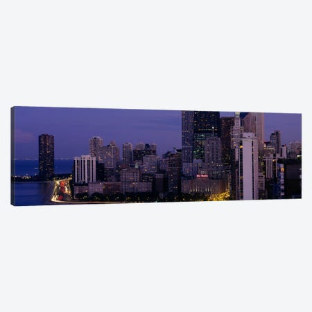 Buildings in a city, Chicago, Cook County, Illinois, USA Canvas Print #PIM624} by Panoramic Images Canvas Art Print